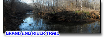 Area Trails on the Eno River