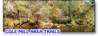 Cole Mill Area Trails on the Eno River